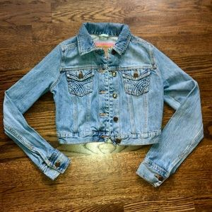 Hollister Denim Jacket size small